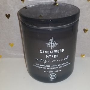 New DW HOME Sandalwood Myrrh scented candle